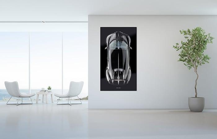 Edition ONE-OFF - Wandbild mit Schattenfuge – Bildformat L