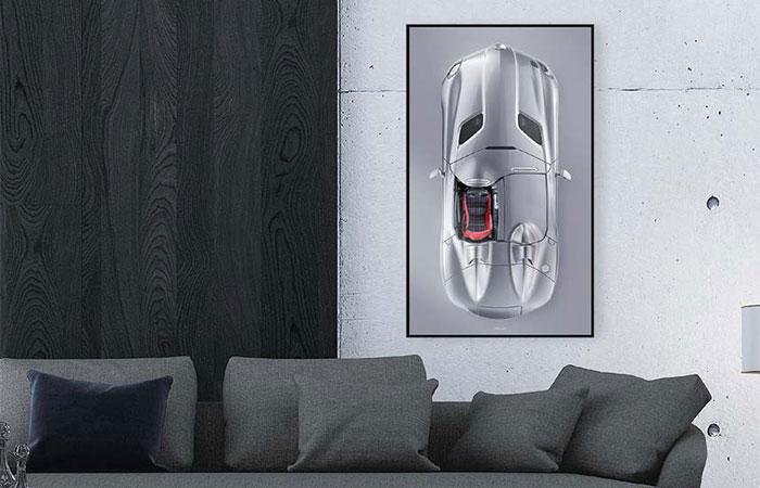 Edition ONE-OFF - Wandbild mit Schattenfuge – Bildformat M