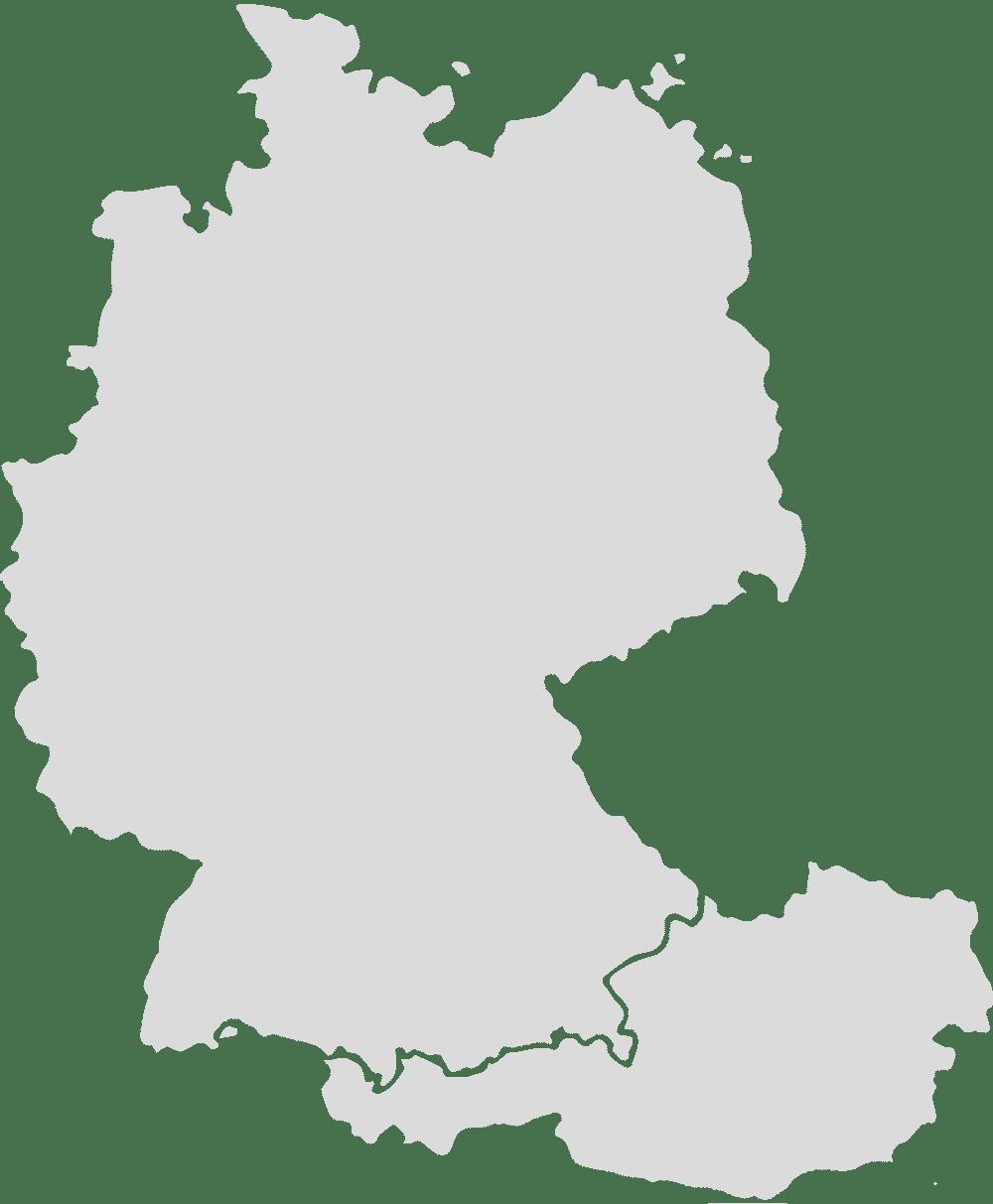 Die Galerien - Deutschlandkarte | Edition ONE-OFF