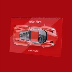 Ferrari Wandkalender - Edition ONE-OFF - Produktbild
